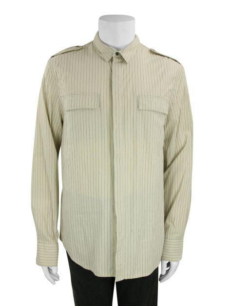 Camisa Seven For All Mankind Tecido Listrada Masculina