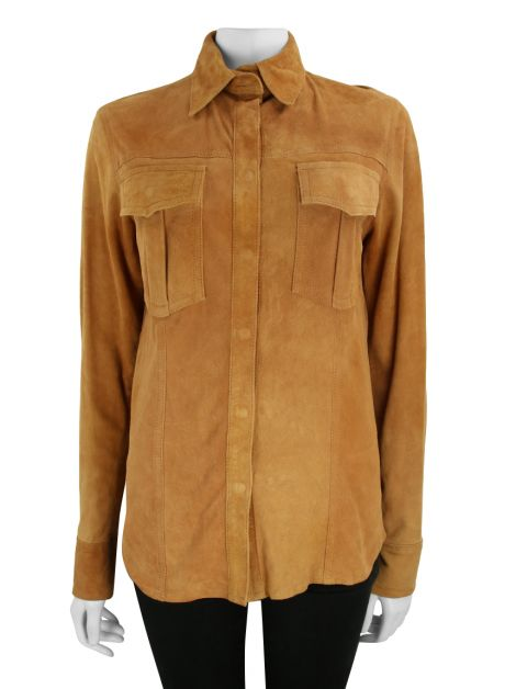 Camisa Talie NK Suede Caramelo