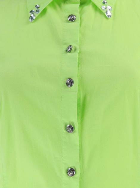 Camisa Versace Jeans Couture Verde