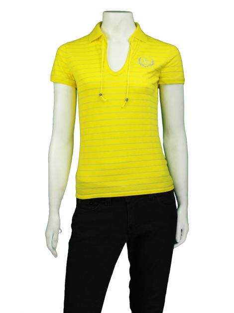 Camiseta Armani Exchange Amarela