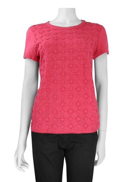Camiseta Louis Vuitton Monograma Pink