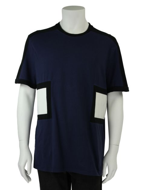 Camiseta Neil Barret Bicolor Masculina