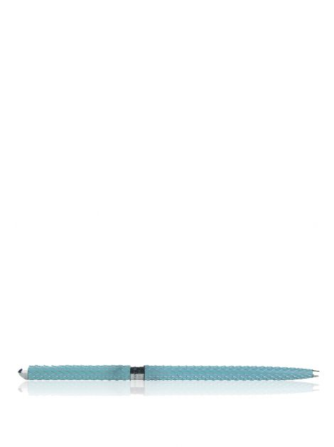 Caneta Tiffany & Co Texturizada Azul