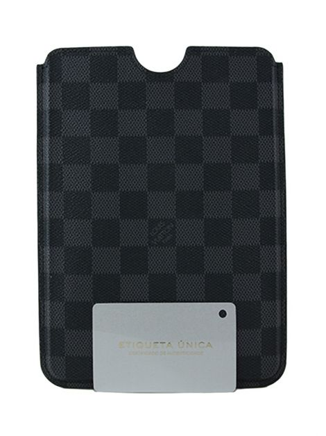Capa de iPad Mini Louis Vuitton Damier Graphite