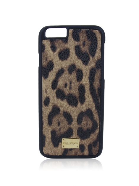 Capa Dolce & Gabbana Iphone Leopardo