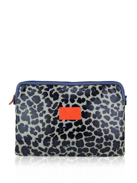 Capa Notebook Marc by Marc Jacobs Animal Print Azul