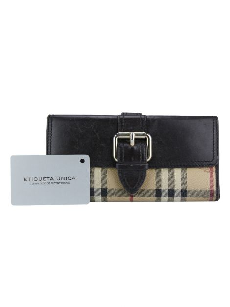 Carteira Burberry Canvas Xadrez