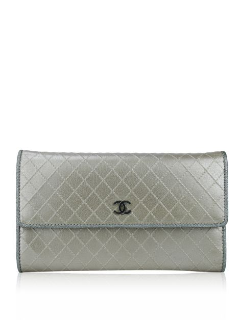 Carteira Chanel Diamond Stitched Rose