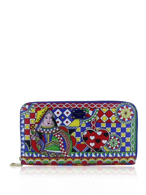 Carteira Dolce & Gabbana Canvas Estampada