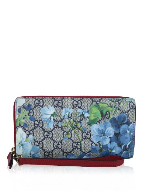 Carteira Gucci Continental Supreme Blooms