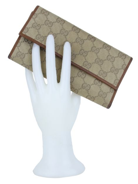 Carteira Gucci Signature Continental