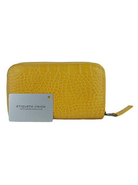 Carteira Jacobs by Marc Jacobs Couro Amarelo