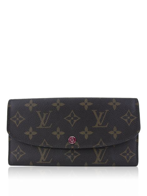 Carteira Louis Vuitton Emilie Fuschia