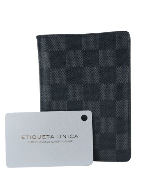 Carteira Louis Vuitton James Damier Graphite
