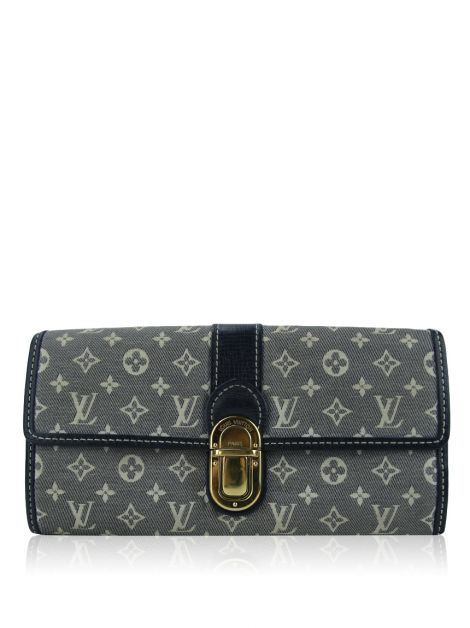 Carteira Louis Vuitton Sarah Mini Lin Encre