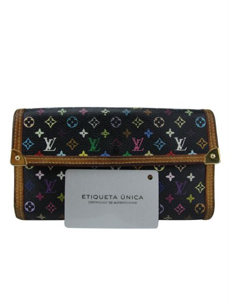 Carteira Louis Vuitton Monograma Multicolore