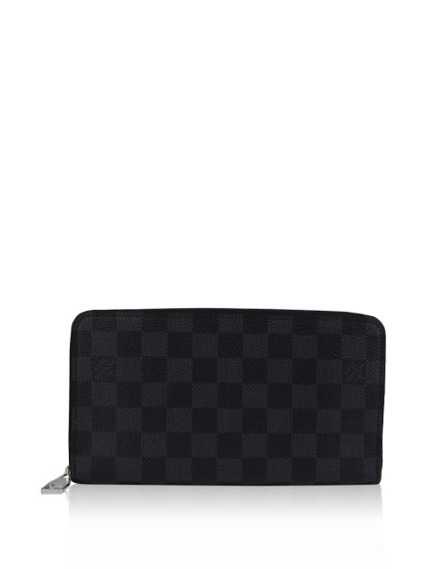 Carteira Louis Vuitton Zippy Organizer Damier Graphite