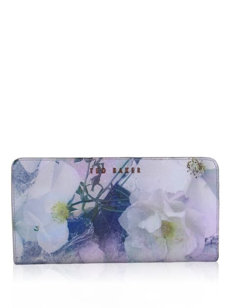 Carteira Ted Baker Cathin Couro Floral