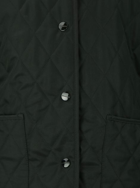 Casaco Burberry London Matelassê Preto