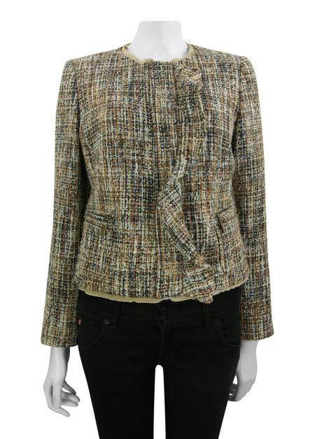 Casaco Le Lis Blanc Tweed Multicolor