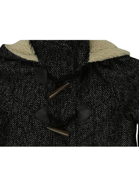 Casaco Mango Kids Tweed Infantil