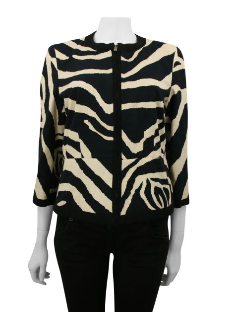 Casaco Max Mara Studio Animal Print