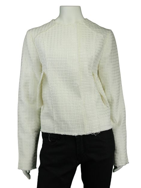 Casaco Mixed Tweed Off-White