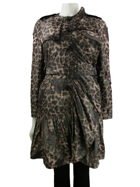 Casaco Moschino Cheap And Chic Franzido Animal Print