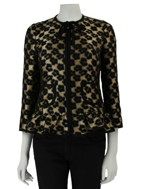 Casaco Red Valentino Estampado Leopardo