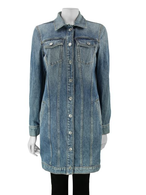 Casaco Seven For All Mankind Jeans Claro