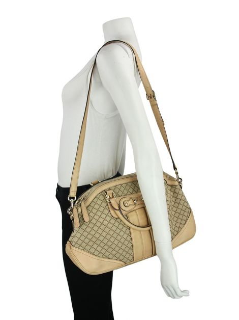 Bolsa Gucci Catherine Dome Satchel Canvas