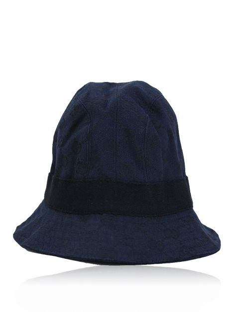 Chapéu Gucci Bucket Canvas GG Azul