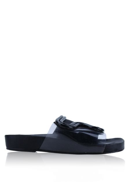 Chinelo Cris Barros Sunrise Preto