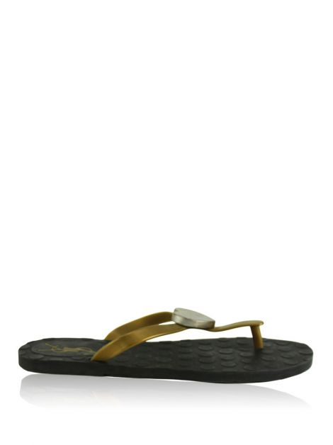 Flat Yves Saint Laurent Borracha