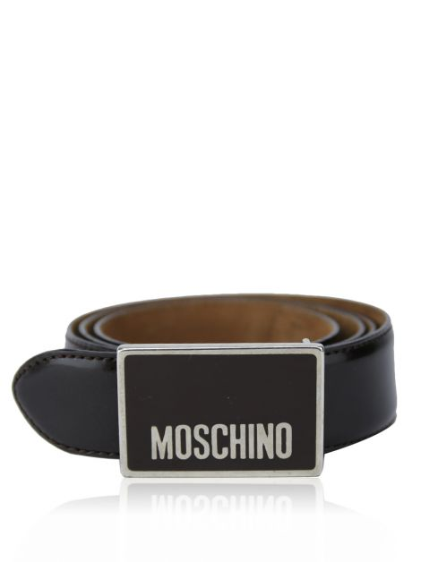 Cinco Moschino Couro Chocolate