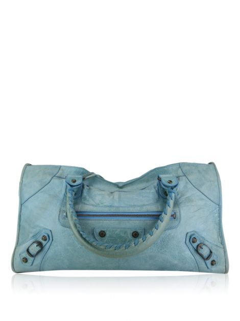 Bolsa Balenciaga Classic Part Time Bag Azul Claro