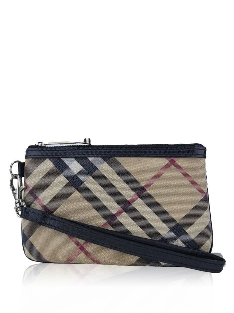 Clutch Burberry Canvas Nova Check