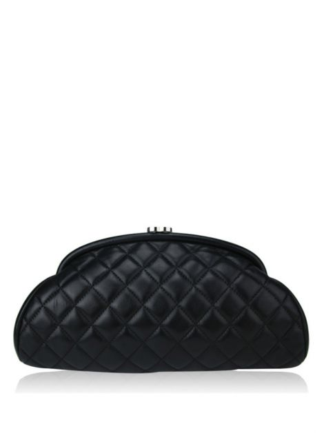Clutch Chanel Classic Timeless Preto