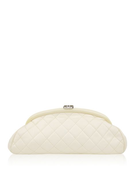 Clutch Chanel Timeless Off-White