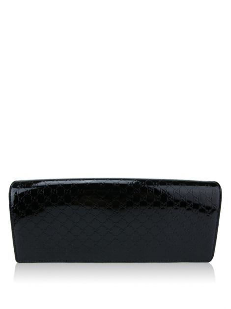 Clutch Gucci Broadway Shine Verniz Preto