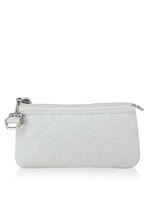 Clutch Gucci Couro Off White