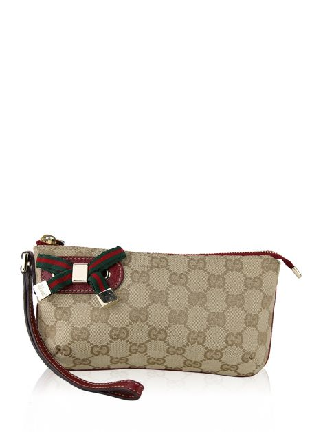 Clutch Gucci GG Canvas Wristlet