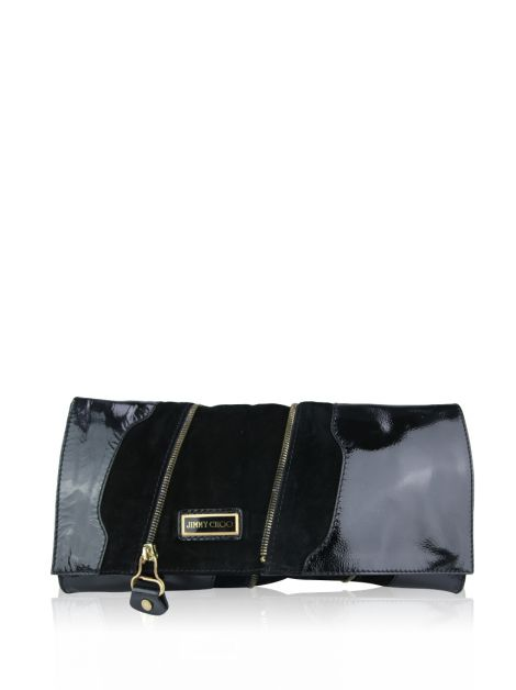 Clutch Jimmy Choo Camurça