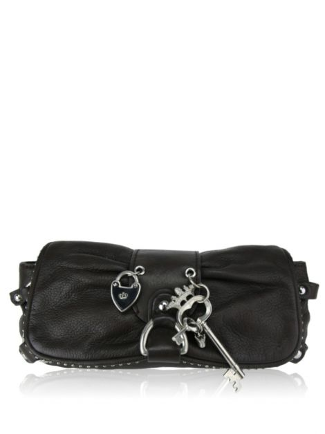 Clutch Juicy Couture Couro Marrom
