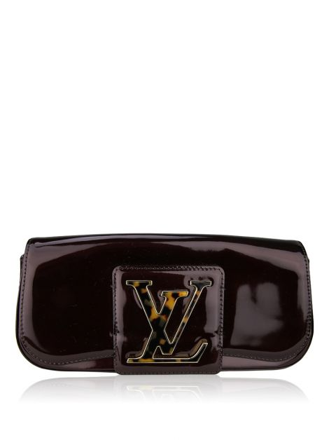 Clutch Louis Vuitton SoBe Verniz Amarante