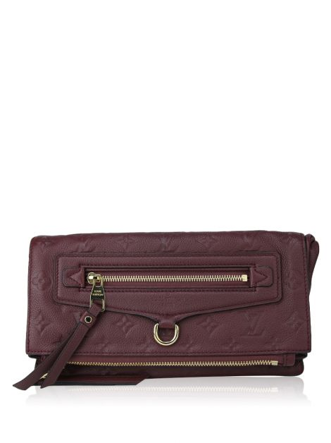 Clutch Louis Vuitton Empreinte Petillante Vinho