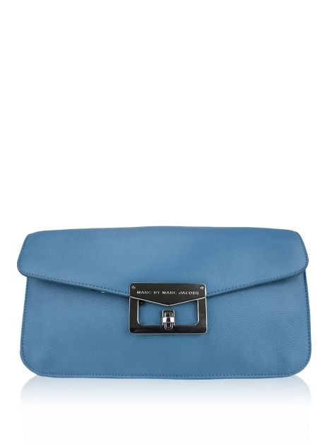 Clutch Marc by Marc Jacobs Bianca Azul