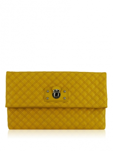 Clutch Marc Jacobs Eugenie Amarela