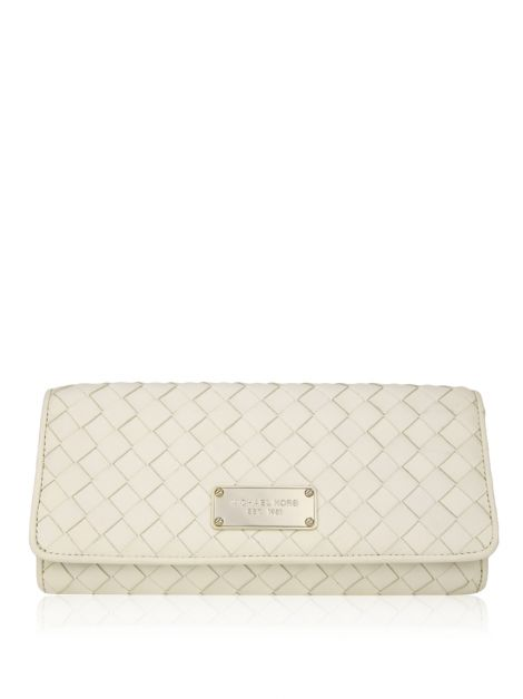 Clutch Michael Kors Couro Off-White