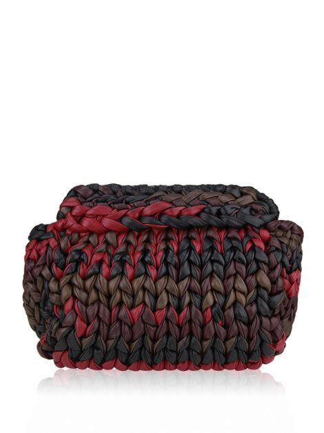 Clutch Prada Knitted Multicolor
